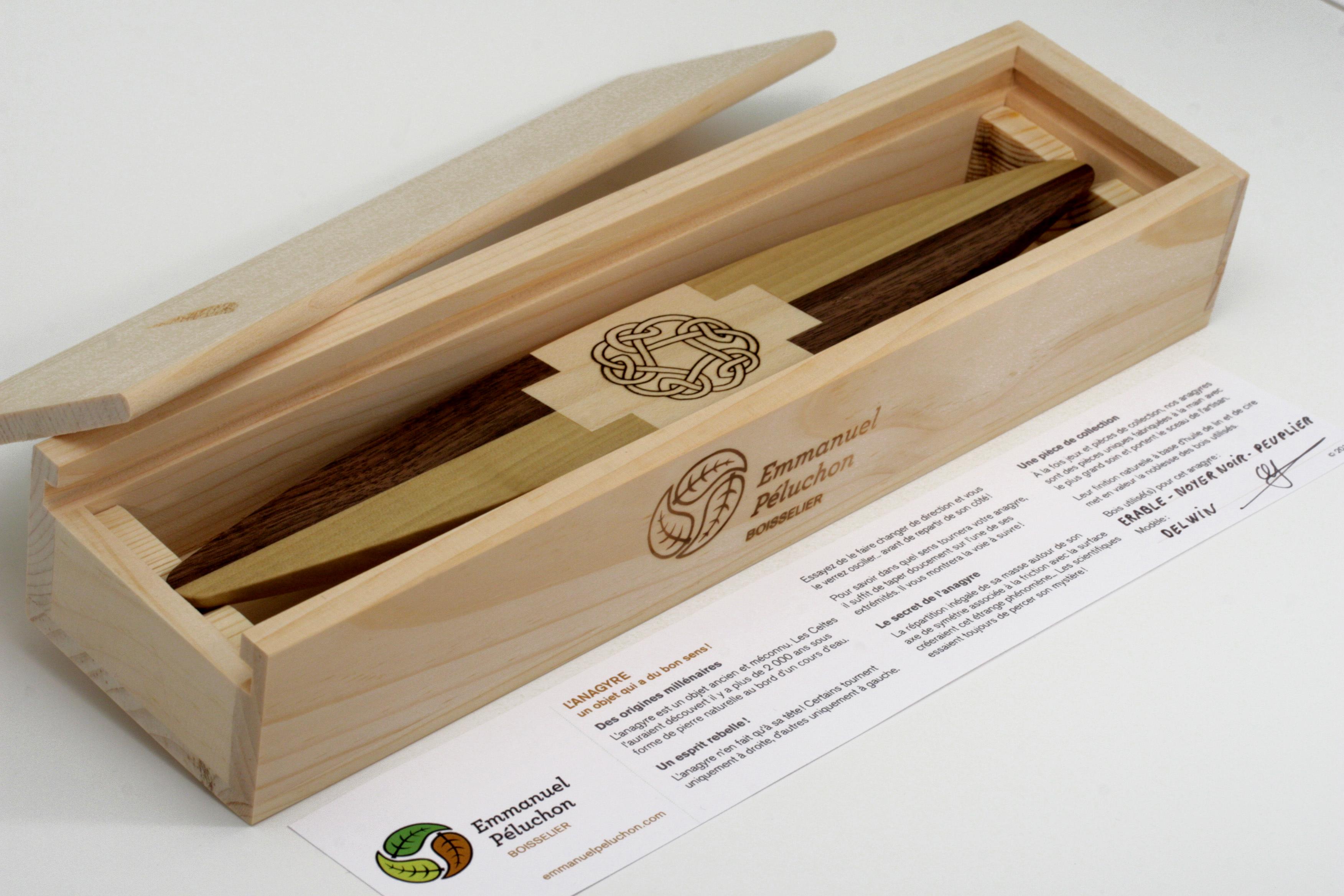 L'ANAGYRE - Un objet original pour cadeaux d'entreprise