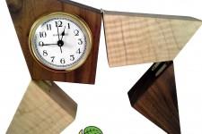 HENRY DUDENEY DESK CLOCK (USA-MADE MOVEMENT)